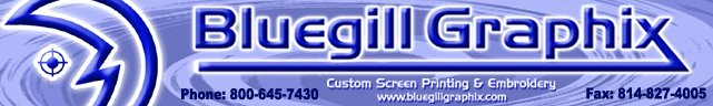 Bluegill Graphix Logo